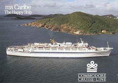 Caribe 1 ex TSS Olympia After Commodore Cruises Refit.
