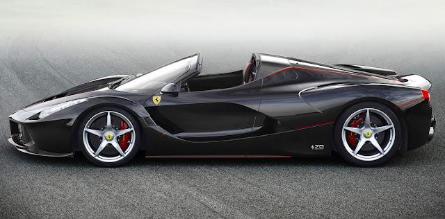 限定車「ラフェラーリ・アペルタ」がチャリティーオークションのために1台だけ追加生産。