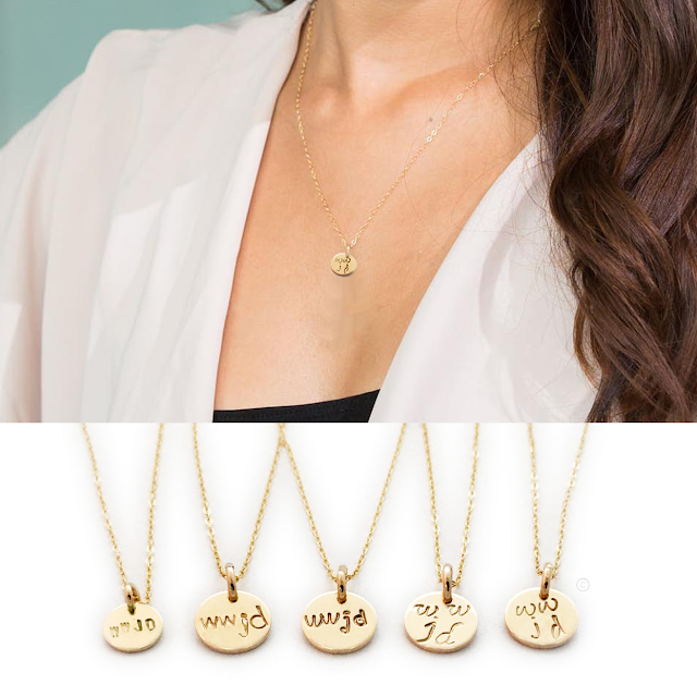 Gold WWJD Necklace