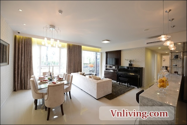 Masteri Thao Dien Apartment for rent 3 bedrooms beautyflustyle
