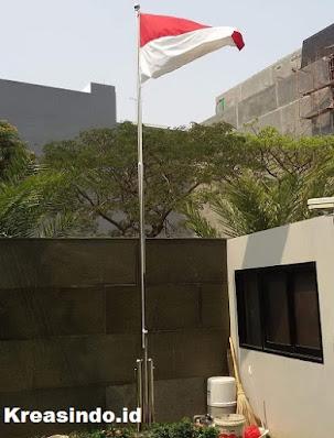 Harga Tiang Bendera Stainless Terbaru Murah