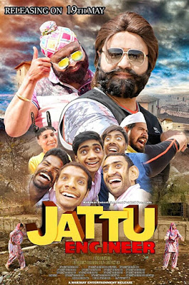 Jattu Engineer 2017 Hindi DVDRipL 480p 400Mb x264