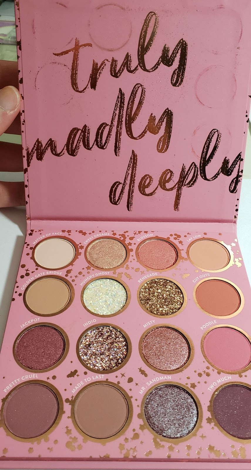 Truly Madly Deeply Eyeshadow Palette by Colourpop #19