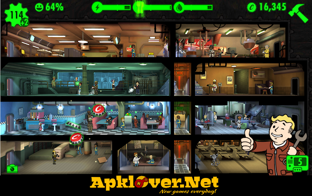Fallout Shelter MOD APK unlimited money