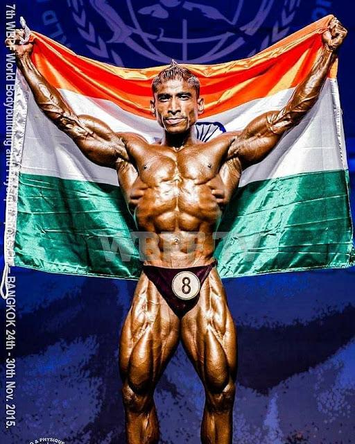 Mr World Nitin Mhatre