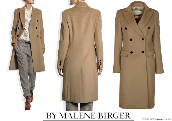 Princess Mari wore By Malene Birger Torun Winter coat