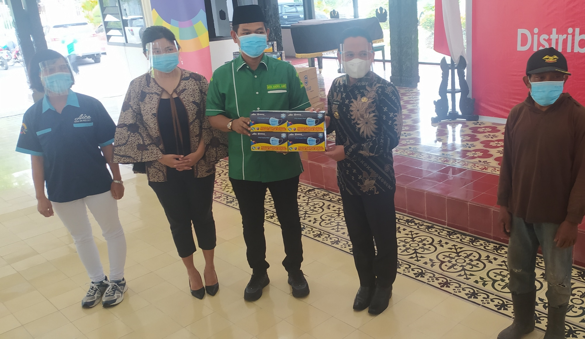 Ansor Lumajang Bantu Distribusikan 150 Ribu Masker