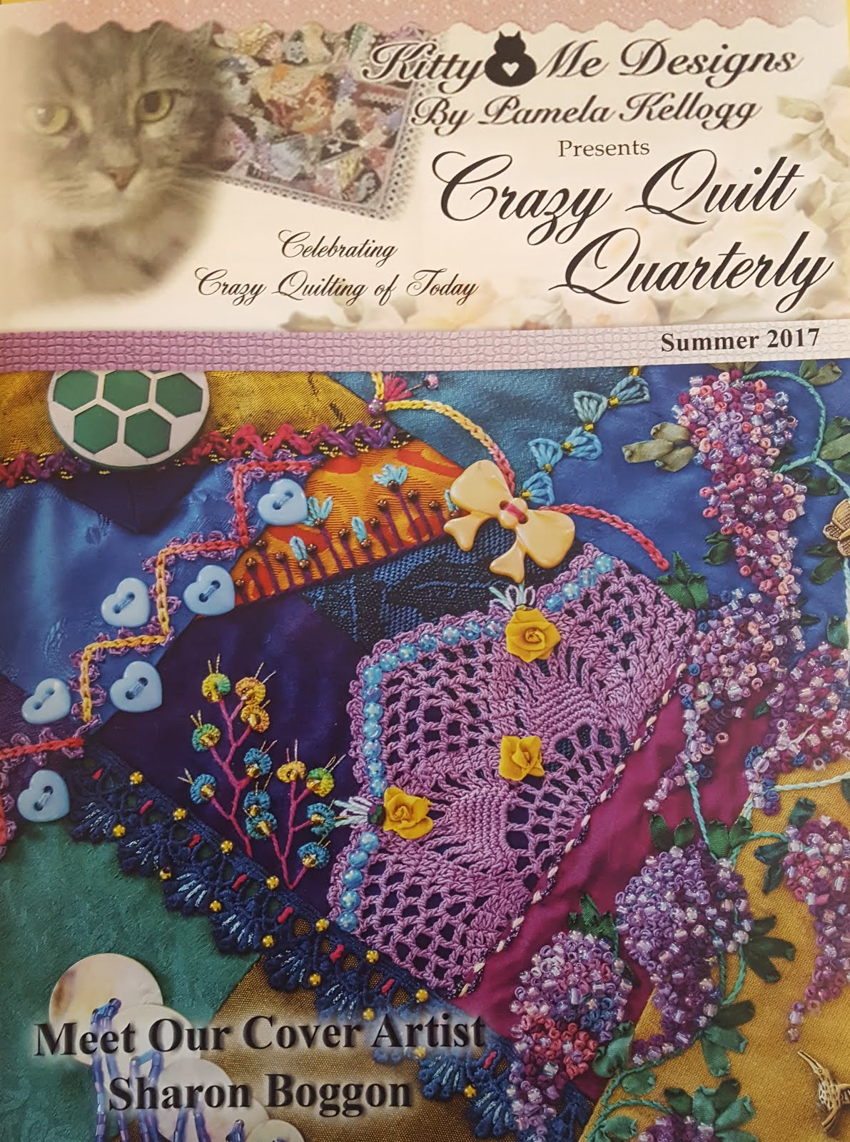 Crazy Quilt Quarterly, Summer 2017