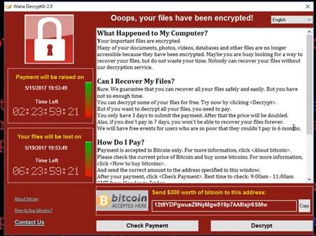 serangan siber wannacry