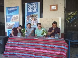 Vecinos de Monte Chingolo participaron de la presentación del libro del CEDI en la Biblioteca