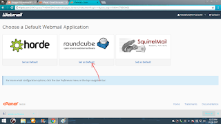 roundcube to access webmail