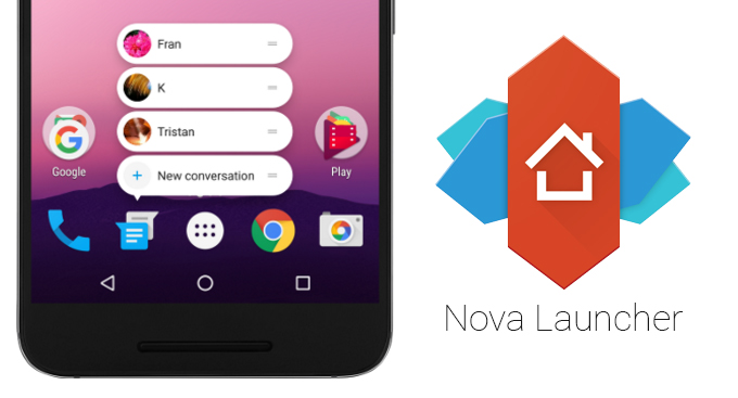 nova launcher techmidroid