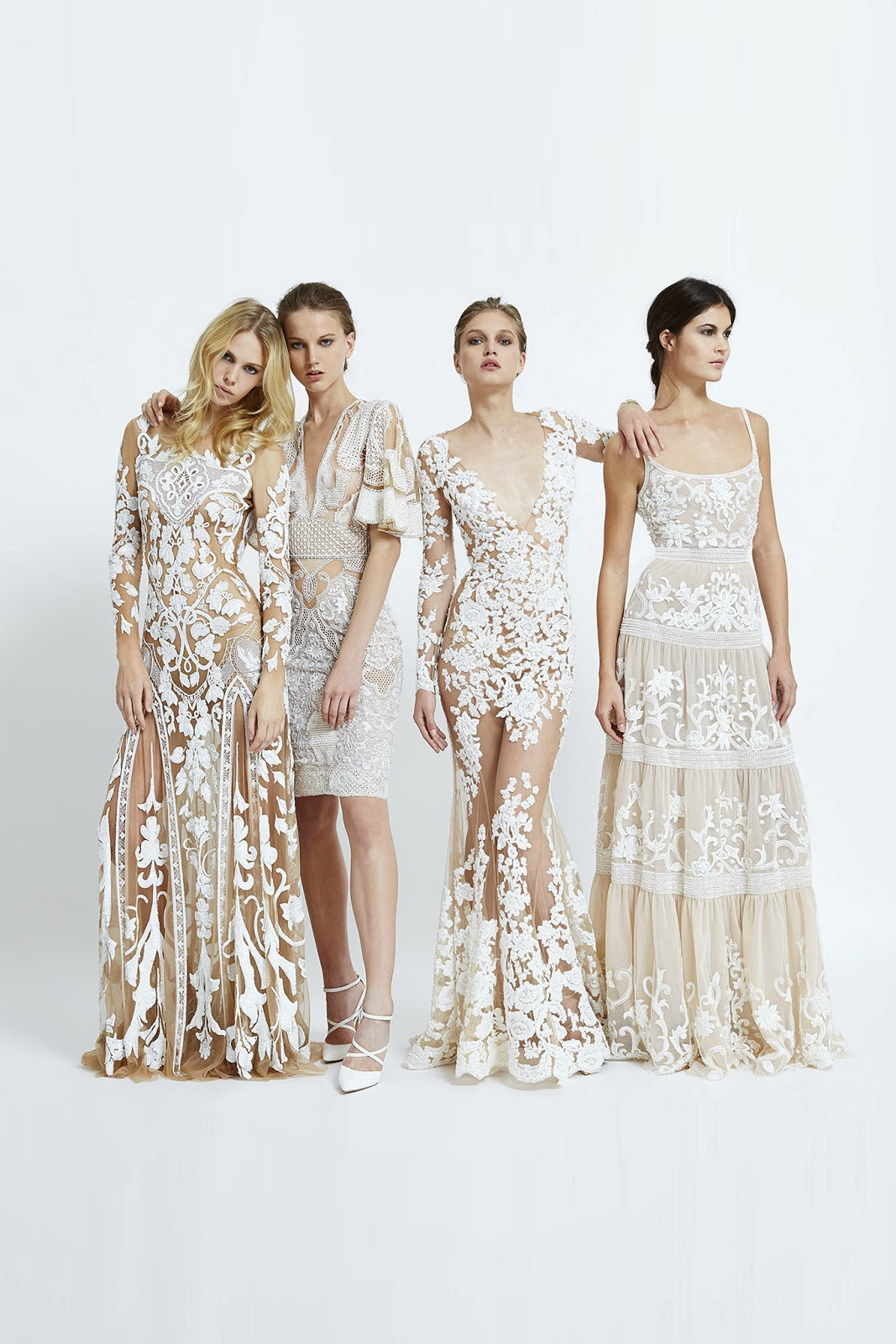 Zuhair Murad Spring 2015 Ready-to-Wear - Cool Chic Style Fashion