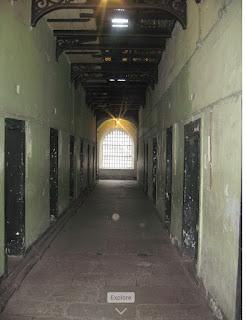 Kilmainham Gaol  hallway