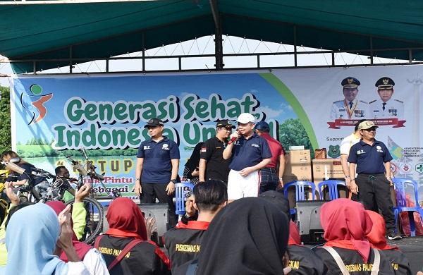 Dinas Kesehatan Kapuas Bersama Kodim 1011/KLK Launching Program Ketupat Kuning