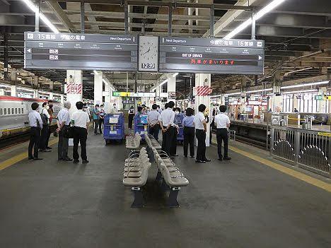上越新幹線 とき10号 大宮行き