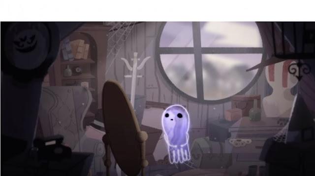 Google menciptakan video singkat Hantu Jinx yang kesepian untuk memperingati Hari Halloween Ha Berita Terhangat Halloween dan Perjalanan Hantu Jinx yang Kesepian Makara Google Doodle Hari Ini