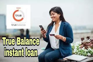 true balance loan details