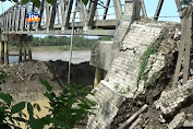 Paska Longsor, Jembatan Glendeng Ditutup Total