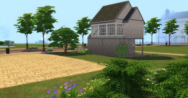 Стартовый домик 2 для The Sims 4 со ссылкой для скачивания