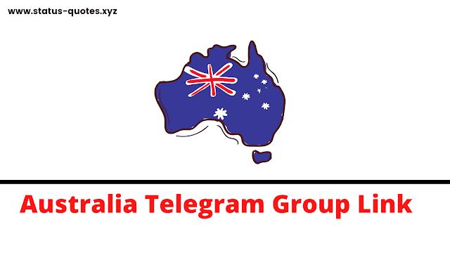 【BEST】Australia Telegram Group Link