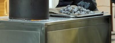 carrinho de vendedor de castanhas