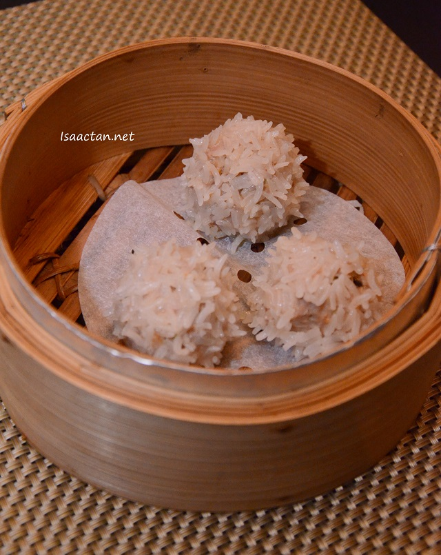 Sticky Rice Lamb Siew Mai - RM 19 for 3 pcs