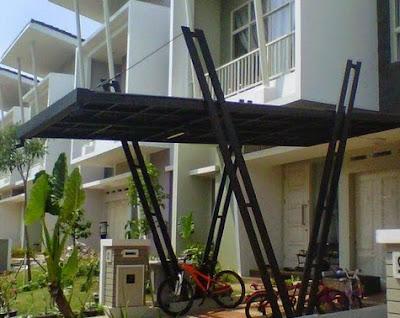 rangkuman model kanopi baja ringan terbaru