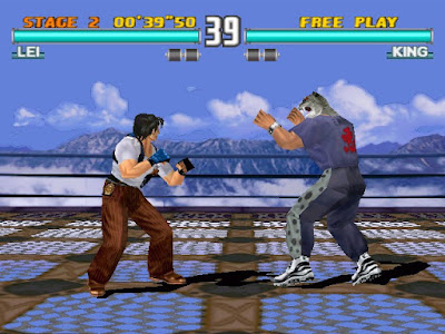 Tekken 3+arcade+game+portable+3D+fighter+videojuego+descargar gratis