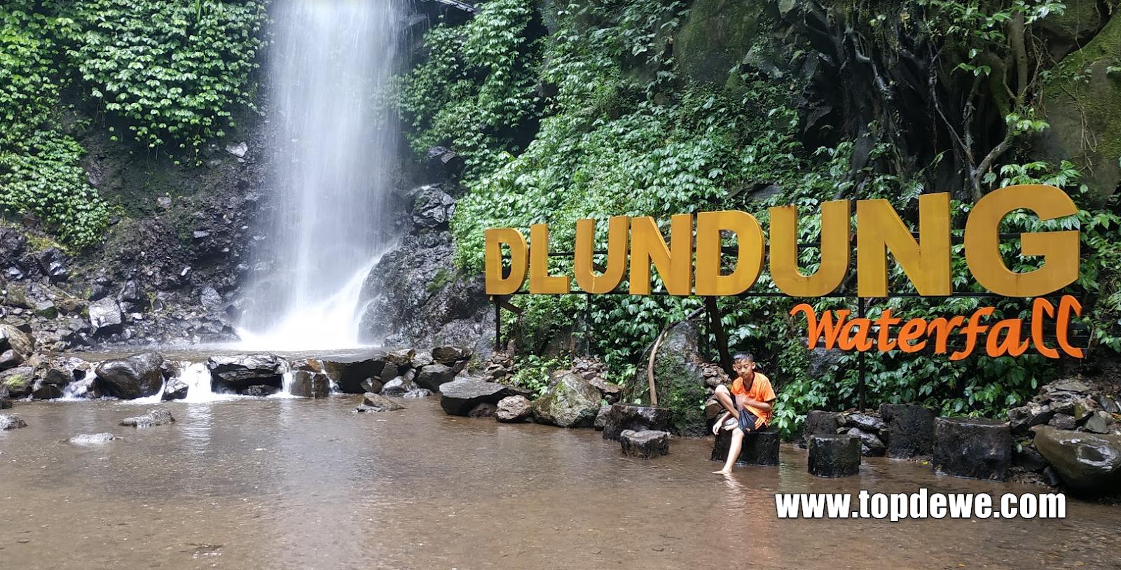 Air Terjun Dlundung,Wisata Murah & Sejuk di Trawas Mojokerto ...