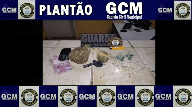 SENTO-SÉ: GUARDA CIVIL MUNICIPAL PRENDE DOIS INDIVÍDUOS POR TRÁFICO DE DROGAS