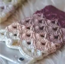 Funda para celular a Crochet