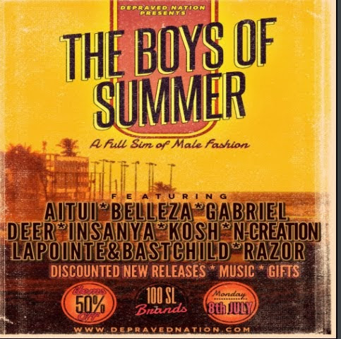 BOYS OF SUMMER fair with {{BSD Design studio}}