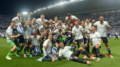 FÚTBOL - El Real Madrid vuelve a lo más alto de la liga con su 33º título