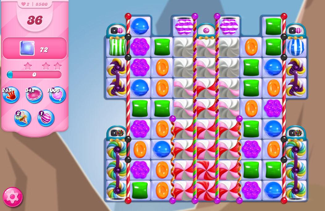 Candy Crush Saga level 8500