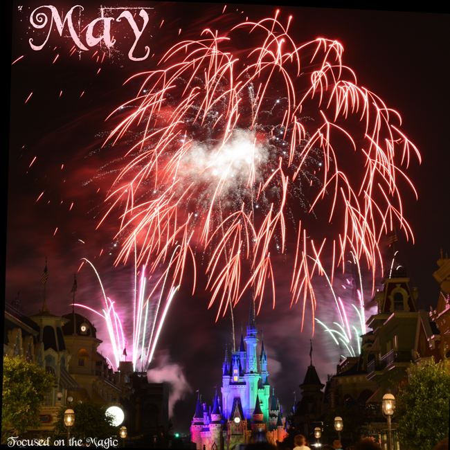 Magic Kingdom, Walt Disney World, fireworks