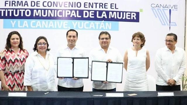 CANAIVE Yucatán prevendrá la violencia contra la mujer