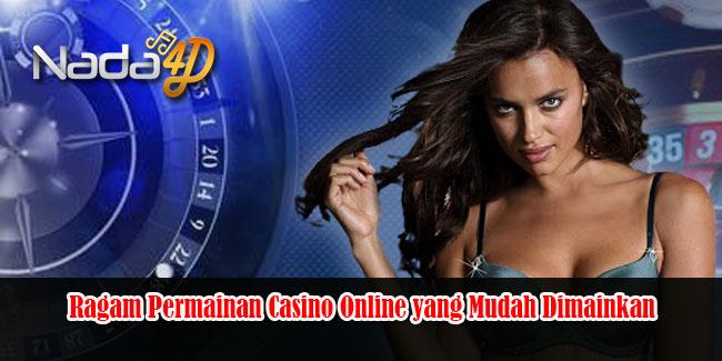 Ragam Permainan Casino Online yang Mudah Dimainkan