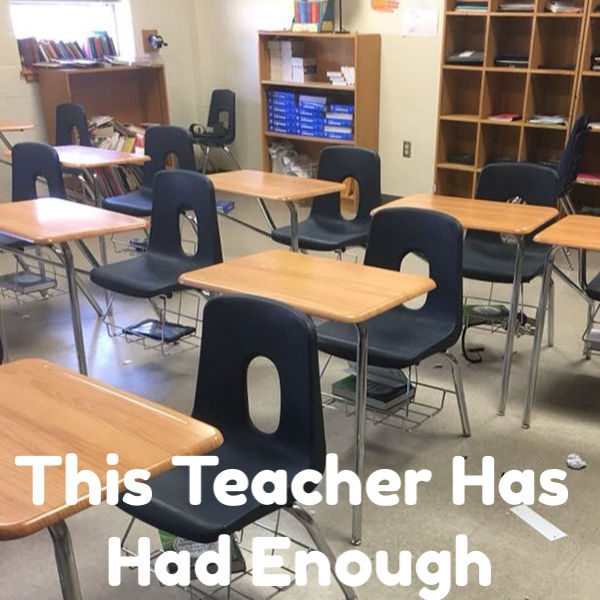 This Teacher Has Had Enough - Julie Marburger