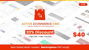 Download Active eCommerce CMS v1.6 Nulled