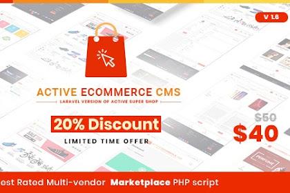 Download Active eCommerce CMS v1.6 Nulled