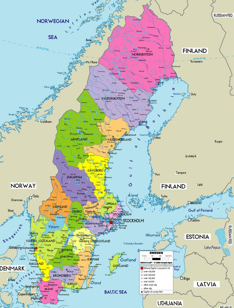 karta på sverige Luv Brings Ecstasy: Interesting Facts about Sweden karta på sverige