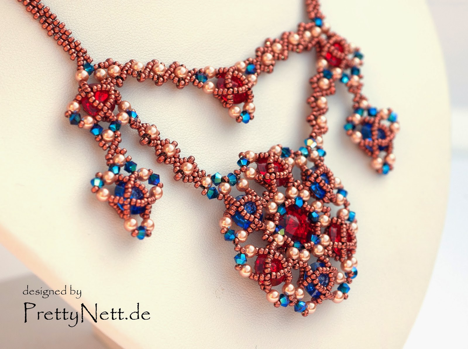 Necklace Arabesque designed by PrettyNett.de