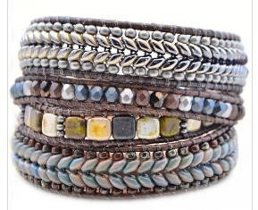 Herringbone Bracelet Tutorial By Lauren Hartman