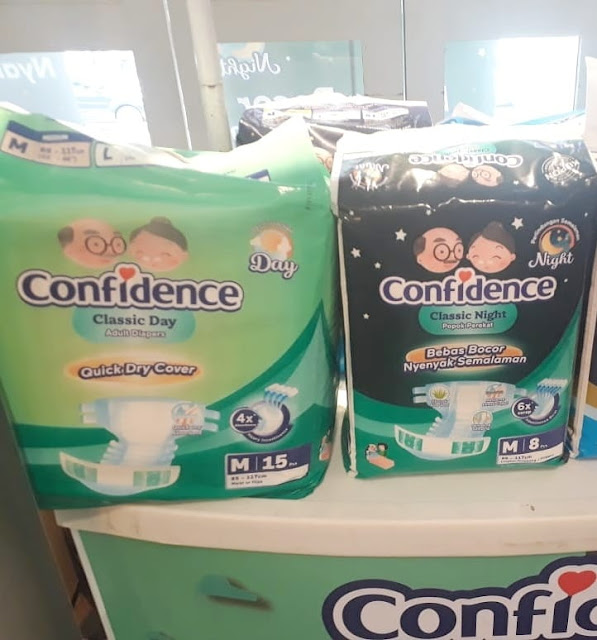 popok dewasa confidence