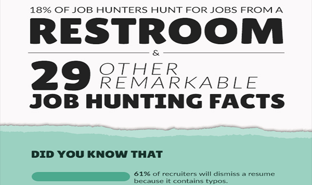 29 Other Remarkable Job Hunting Facts #infographic