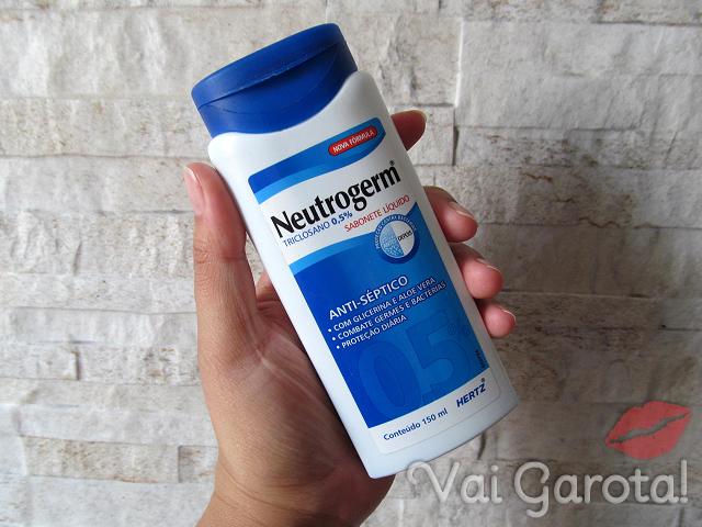 Sabonete Líquido Neutrogerm Triclosano 0,5% - embalagem