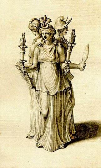 ecate statua  ECATE   Matriarcato & Matriarchy