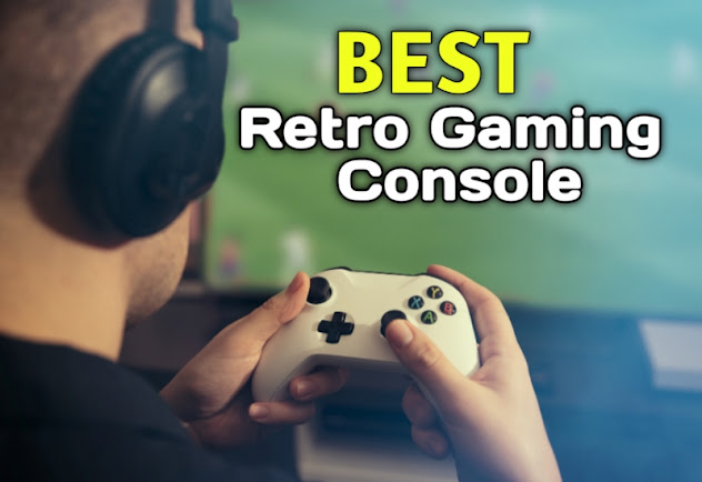 Best Retro Gaming Console with Built-in Games