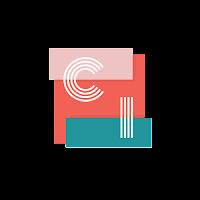 Collage de ideas logo